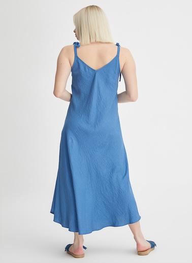 Gusto Elbise Mavi